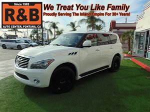 View 2011 Infiniti QX56 SUV 3rd Row Seating