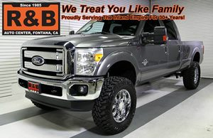 View 2011 Ford Super Duty F-350 4x4 Lifted Diesel