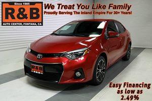 View 2015 Toyota Corolla