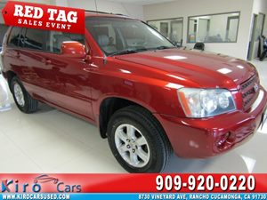View 2002 Toyota Highlander