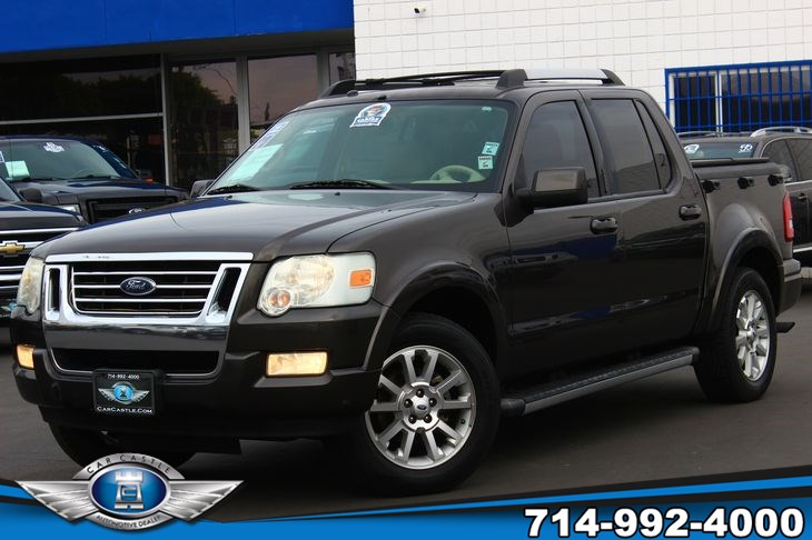 Sold 2007 Ford Explorer Sport Trac Limited In Fullerton