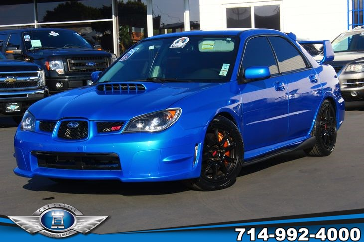 2007 Subaru Impreza Wrx >> Sold 2007 Subaru Impreza Sedan Wrx Sti In Fullerton