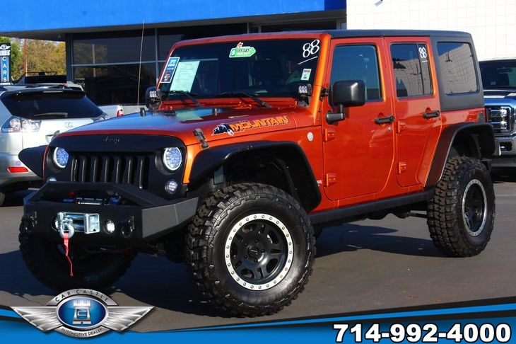 2010 Jeep Wrangler Unlimited Mountain