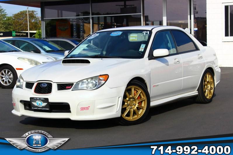 Sold 2007 Subaru Impreza Sedan Wrx Sti In Fullerton