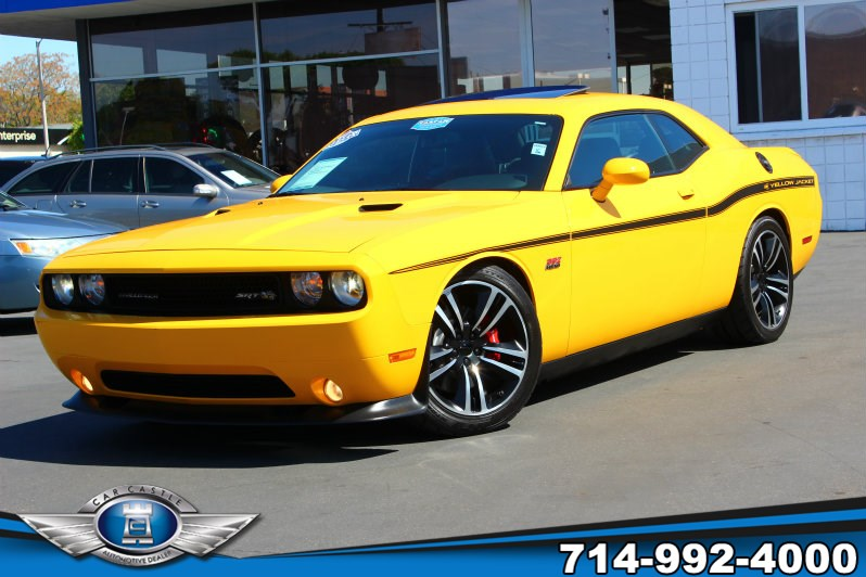 Sold 2012 Dodge Challenger Yellow Jacket In Fullerton