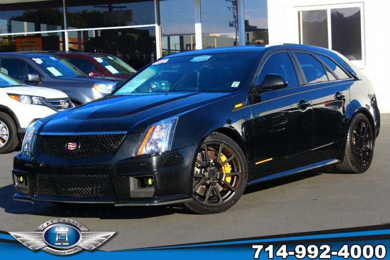 Sold 2011 Cadillac Cts V Wagon In Fullerton