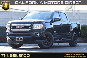 2016 GMC Canyon 2WD SLE Carfax 1-Owner Convenience  Cruise Control Displacement  36L Engine