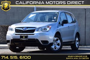 2014 Subaru Forester 25i Carfax 1-Owner Audio  Auxiliary Audio Input Black Side Windows Trim A