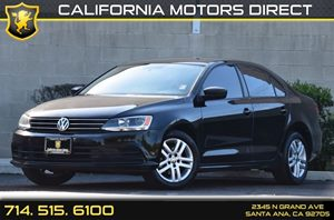 2015 Volkswagen Jetta Sedan 20L S Carfax 1-Owner - No AccidentsDamage Reported Audio  Auxiliar
