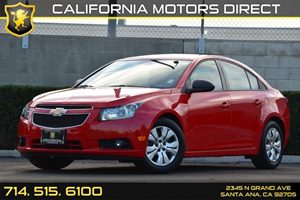 2014 Chevrolet Cruze LS Carfax 1-Owner - No AccidentsDamage Reported Convenience  Security Syst