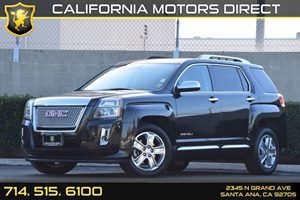 2014 GMC Terrain Denali Carfax 1-Owner Audio  Auxiliary Audio Input Convenience  Back-Up Camer