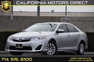 2014 Toyota Camry LE Carfax 1-Owner Audio  Auxiliary Audio Input Chrome Bodyside Insert Clearc