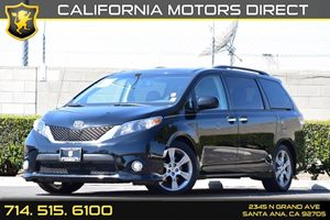 2013 Toyota Sienna SE Carfax 1-Owner Audio  Auxiliary Audio Input Color-Keyed Bumpers Convenie