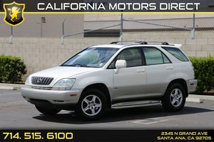 2003 Lexus RX 300  Carfax Report - No AccidentsDamage Reported  Crystal White  We are not res
