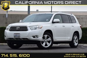 2009 Toyota Highlander Limited Carfax Report - No AccidentsDamage Reported Audio  Auxiliary Aud