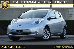 2013 Nissan LEAF S Carfax 1-Owner - No AccidentsDamage Reported Audio  Auxiliary Audio Input C