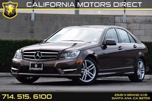 2014 MERCEDES C250 Luxury Sedan Carfax 1-Owner - No AccidentsDamage Reported Audio  Auxiliary A