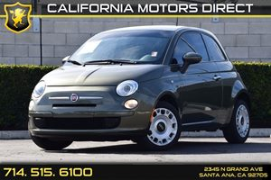 2015 FIAT 500 Pop Carfax 1-Owner - No AccidentsDamage Reported Audio  Auxiliary Audio Input Bo