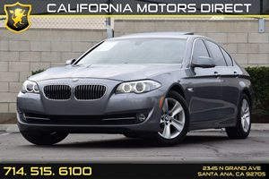2013 BMW 5 Series 528i Carfax 1-Owner Audio  Auxiliary Audio Input Convenience  Cruise Control
