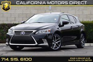 2014 Lexus CT 200h Hybrid Carfax 1-Owner - No AccidentsDamage Reported Audio  Auxiliary Audio I