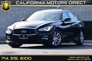 2014 INFINITI Q50  Carfax 1-Owner - No AccidentsDamage Reported Audio  Auxiliary Audio Input C