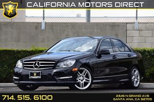 2014 MERCEDES C300 4MATIC Luxury Sedan Carfax 1-Owner - No AccidentsDamage Reported Audio  Auxi