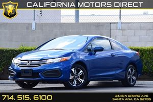 2015 Honda Civic Coupe EX Carfax 1-Owner - No AccidentsDamage Reported Audio  Auxiliary Audio I