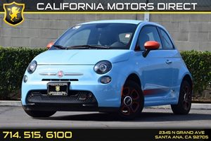 2015 FIAT 500e  Carfax 1-Owner - No AccidentsDamage Reported Audio  Auxiliary Audio Input Blac