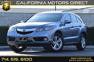 2014 Acura RDX Tech Pkg Carfax 1-Owner Audio  Auxiliary Audio Input Body-Colored Front Bumper