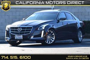 2014 Cadillac CTS Sedan Luxury RWD Carfax 1-Owner - No AccidentsDamage Reported  Phantom Gray