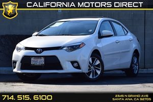 2014 Toyota Corolla LE ECO Carfax 1-Owner Audio  Auxiliary Audio Input Body-Colored Door Handle
