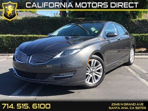 2016 Lincoln MKZ  Carfax 1-Owner - No AccidentsDamage Reported 3 12V Dc Power Outlets Air Condi
