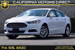 2015 Ford Fusion SE Carfax 1-Owner - No AccidentsDamage Reported Audio  Auxiliary Audio Input