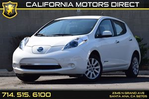 2013 Nissan LEAF S Carfax 1-Owner - No AccidentsDamage Reported  Glacier White  We are not re