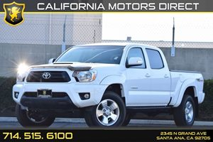 2015 Toyota Tacoma PreRunner Carfax 1-Owner  Super White See ourentire inventory at wwwOCMOTO