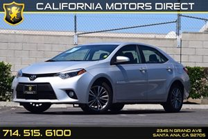 2014 Toyota Corolla LE Premium Carfax 1-Owner - No AccidentsDamage Reported Audio  Auxiliary Au