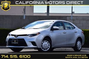 2014 Toyota Corolla L Carfax 1-Owner Audio  Auxiliary Audio Input Body-Colored Front Bumper Bo