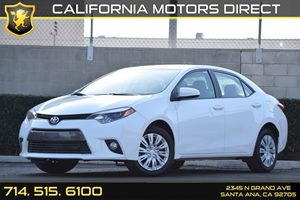 2016 Toyota Corolla L Carfax 1-Owner - No AccidentsDamage Reported Audio  Auxiliary Audio Input
