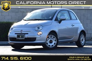 2013 FIAT 500 Pop Carfax 1-Owner - No AccidentsDamage Reported Audio  Auxiliary Audio Input Co