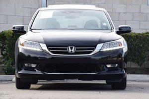 2015 Honda Accord Sedan Touring Carfax 1-Owner Audio  Auxiliary Audio Input Chrome Side Windows