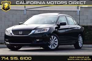 2015 Honda Accord Sedan Touring Carfax 1-Owner Audio  Auxiliary Audio Input Chrome Side Windows