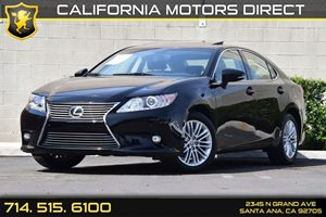 2014 Lexus ES 350  Carfax 1-Owner Audio  Auxiliary Audio Input Compact Spare Tire Mounted Insid