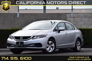 2014 Honda Civic Sedan LX Carfax 1-Owner - No AccidentsDamage Reported Audio  Auxiliary Audio I