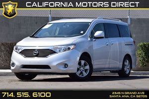 2012 Nissan Quest SV Carfax 1-Owner Audio  Auxiliary Audio Input Convenience  Back-Up Camera