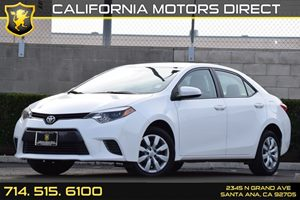 2016 Toyota Corolla LE Carfax 1-Owner - No AccidentsDamage Reported Audio  Auxiliary Audio Inpu