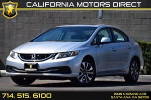2013 Honda Civic Sdn EX Carfax 1-Owner Audio  Auxiliary Audio Input Convenience  Back-Up Camer