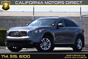 2013 INFINITI FX37  Carfax 1-Owner Convenience  Back-Up Camera Convenience  Cruise Control Co