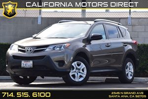 2015 Toyota RAV4 LE Carfax 1-Owner Audio  Auxiliary Audio Input Body-Colored Door Handles Conv