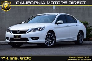 2014 Honda Accord Sedan Sport Carfax 1-Owner - No AccidentsDamage Reported Chrome Side Windows T