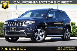 2014 Jeep Grand Cherokee Limited Carfax 1-Owner - No AccidentsDamage Reported Audio  Auxiliary